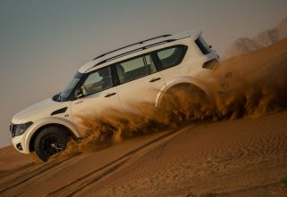 Are Sand Dunes A Problem? Get The Nissan Patrol Moreeb By Arctic Trucks
