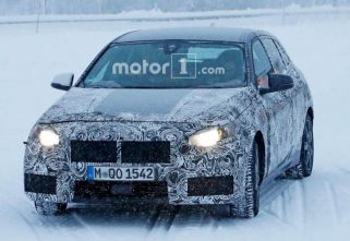 BMW Tests Its New X1 In Snow