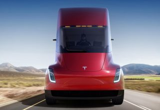 Which is the First Company in the UAE to Order Tesla Semi Truck?