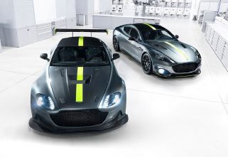 Aston Martin Is Building A Limited-Edition Rapide AMR