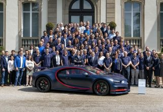 Bugatti Builds Its 100th Chiron For A Customer In Middle East