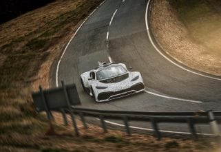 The Mercedes-AMG Project One Is An Outright Mean Machine