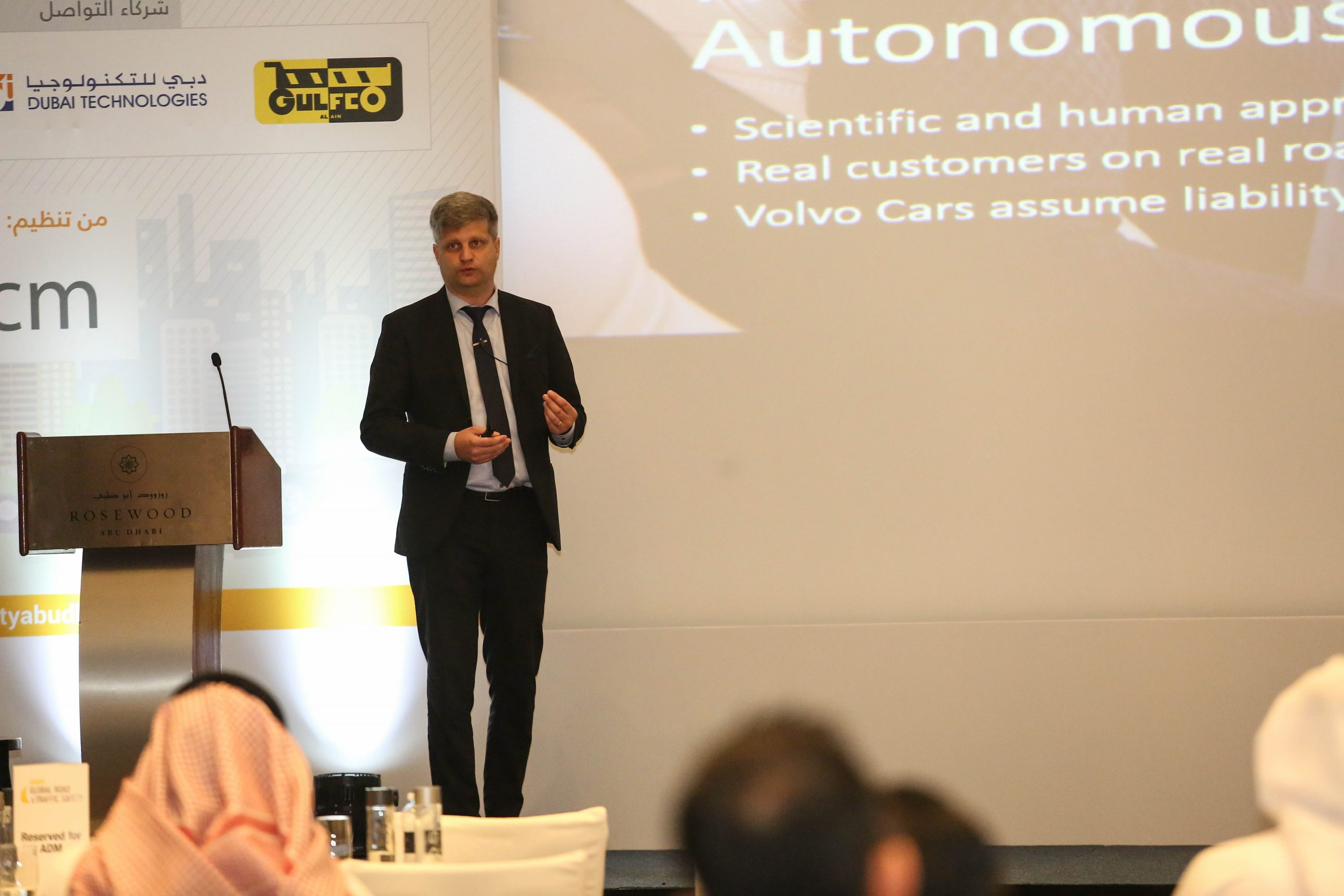 Volvo Redefines Future Of Road Safety At Abu Dhabi Global Road & Traffic Safety Conference
