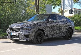 Spied! BMW X6 To Sport More Aggressive Cosmetics
