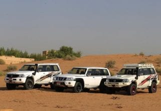 Nissan Middle East Launches Badass Patrol Falcon And Gazelle