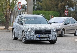 SPIED: Mercedes-AMG GLB 35 Caught On Test