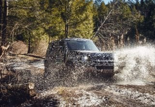 """""""The Most Off-Road Capable,"""" Says Land Rover Of The New Defender"""