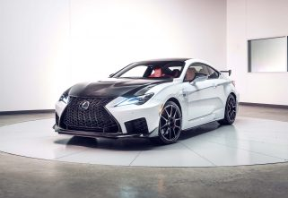 Lexus Unveils The New RC F and RC F Track Edition At Detroit Auto Show