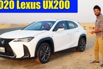 2020 Lexus UX 200 F Sport Review | Luxury Subcompact Crossover SUV