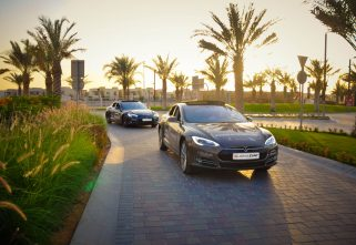 A Road Trip Across UAE, Oman In Electric Vehicles
