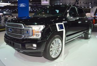 Ford showcased 2018 F-150 Limited At The Dubai Motor Show 2017
