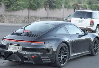 Test Mules Of 2019 Porsche 911 Spotted Testing