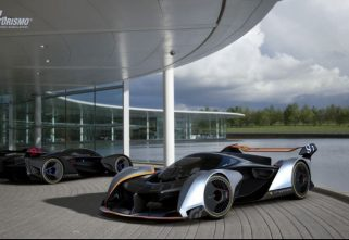 McLaren To Manufacture One Model Of The Ultimate Vision Gran Turismo Hypercar