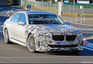 SPIED! 2020 BMW Alpina B7 To Arrive With The Refreshed 7-Series