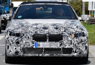 Spied: BMW 4-Series Convertible Shows Off Soft Top