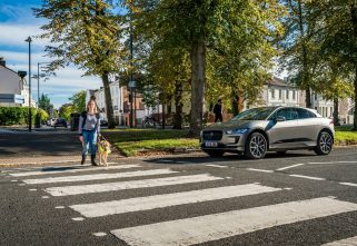 Jaguar I-Pace Protects Road Users By Making Sounds