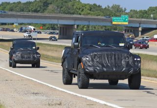 Spied: Jeep Wrangler-Based Pickup To Get Two Trims!