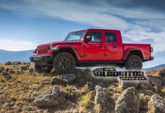 LEAKED! Say Hello To The Upcoming Jeep Gladiator