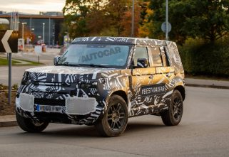 SPIED: New Land Rover Defender On Its Way!