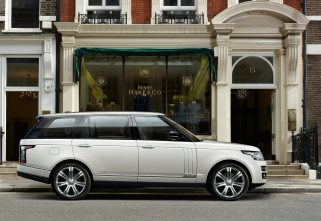 Land Rover Plans Ultra Luxurious SUV To Rival The Bentley Bentayga