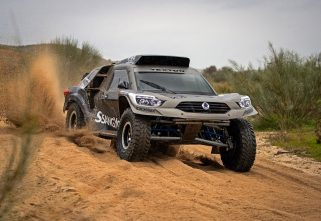 SsangYong's Rexton-Inspired Rally Weapon Is One Mean Machine