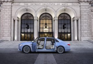 Lincoln Unveils The Continental Coach Edition: Suicide Doors Anybody?