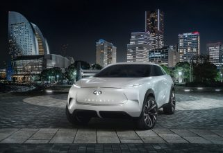 INFINITI TO UNVEIL FIRST FULL-ELECTRIC QX INSPIRATION SUV AT DETROIT