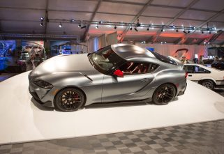 First-Ever 2020 Toyota Supra Auctioned At Barrett-Jackson For $2.1 Million.