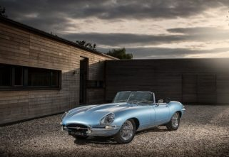 Jaguar E Type Zero- The Most Beautiful Electric Car Is Here