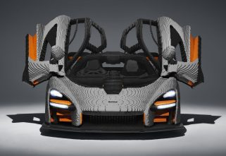After Chiron, Here's A Life-Size McLaren Senna Made Of Lego