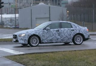 Test Mule Of New Mercedes-Benz A-Class Sedan Spotted