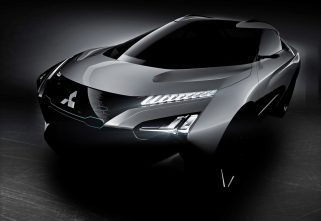 More Pictures Of Mitsubishi e-Evolution, Details About AI
