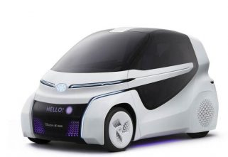 Toyota's Concept-i Ride Revealed, Will Be Showcased At Tokyo Motor Show
