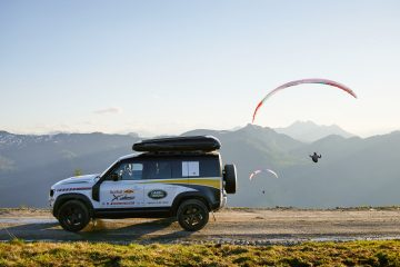 Land Rover Defender Supports Red Bull X-Alps Champion Maure